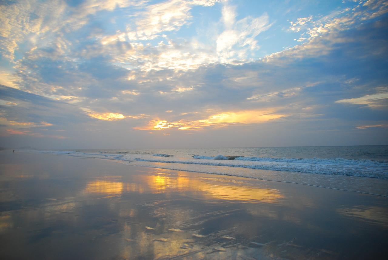 Sunrise at Surfside Beach, SC
