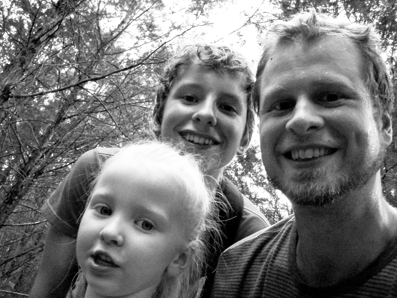 Chloe, Josh, and Tim Howland - July 2010