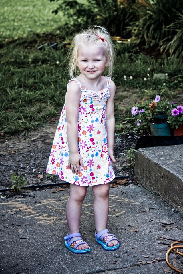 Chloe, 3 - June 24th, 2009