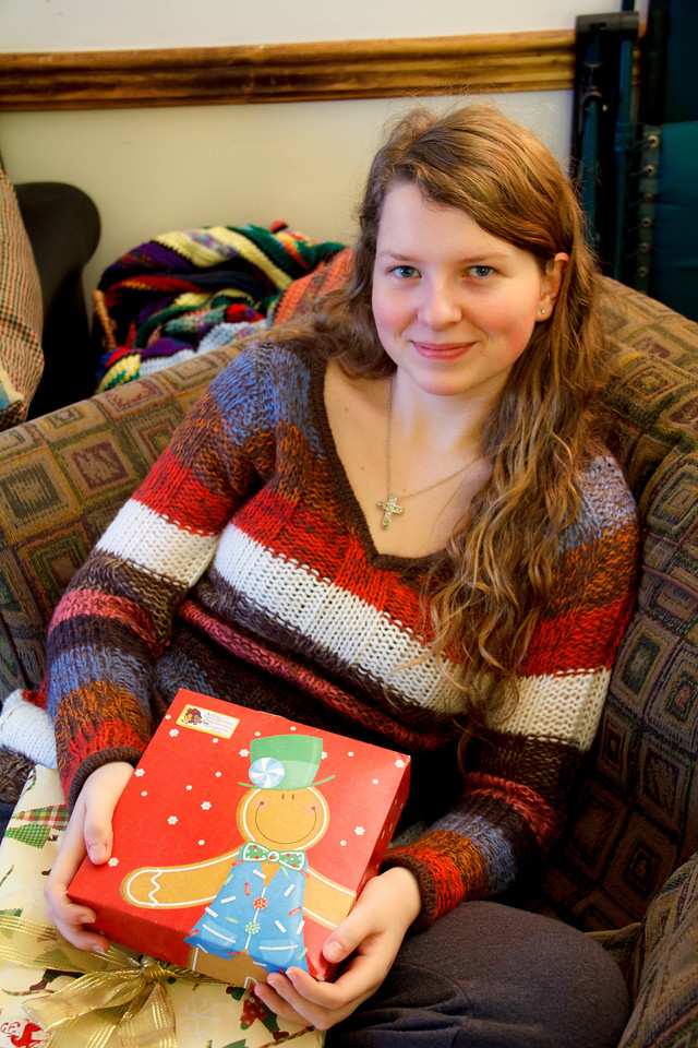 Abigail, 16, Christmas 2012