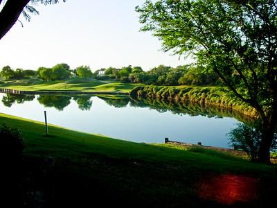 13th Green Staduim Course PGA West, La Quinta, CA morning