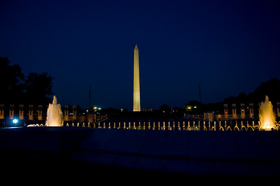 Washington Monument from the WW2 Memorial