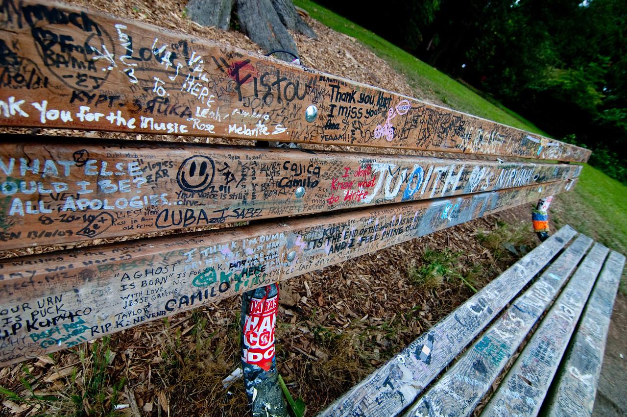 """Seattle - Kurt Cobain """"Memorial"""""""