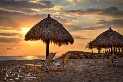 Puerto Vallarta, Mexico - beach at Shangri-La, near the Marina.
