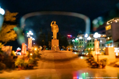 Statute of Ho Chi Minh, Can Tho, Vietnam.  Series of 2