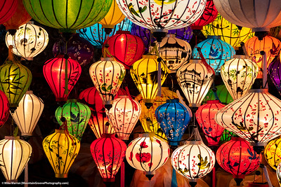 Bright lanterns of Hoi An, Vietnam