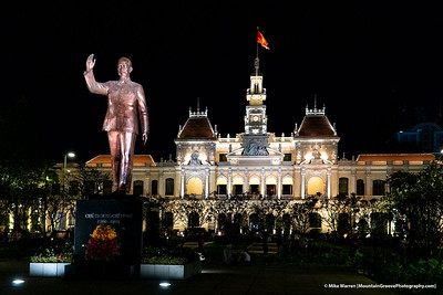 Statute of Ho Chi Minh, Ho Chi Minh City, Vietnam
