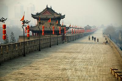 Xi'an Town Wall, Xi'an, China