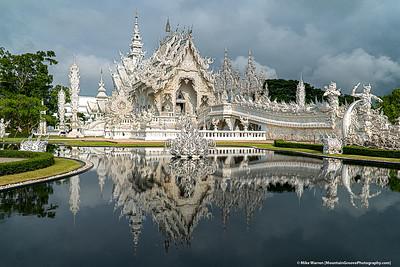 White Temple, Chiang Rai, Thailand.