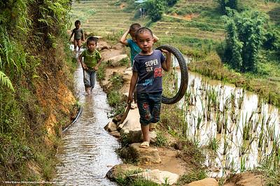 Sa Pa, Vietnam.  Series of 2.