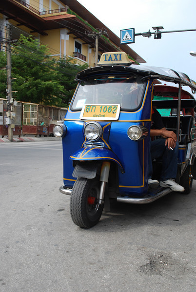 Tuk-tuks abound in Chiang Mai
