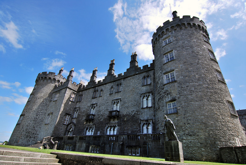 Kilkenny Castle, one of the best we saw the whole trip.
