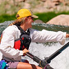 Pulling on the oars, Middle Fork Salmon River, Idaho