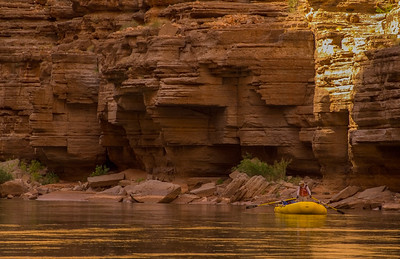 A quiet moment on the Grand Canyon, Arizona