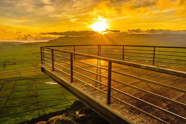 Original Terceira Island Viewpoint Sunset Photography 5 By Messagez com