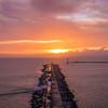 Algarve Molhe Beach at Sunset ~Messagez com