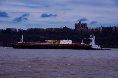 Hudson River Barge