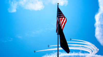 Stars and Stripes flyby