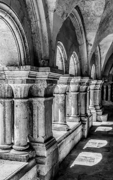 Cloisters at Fontenay Abbey
