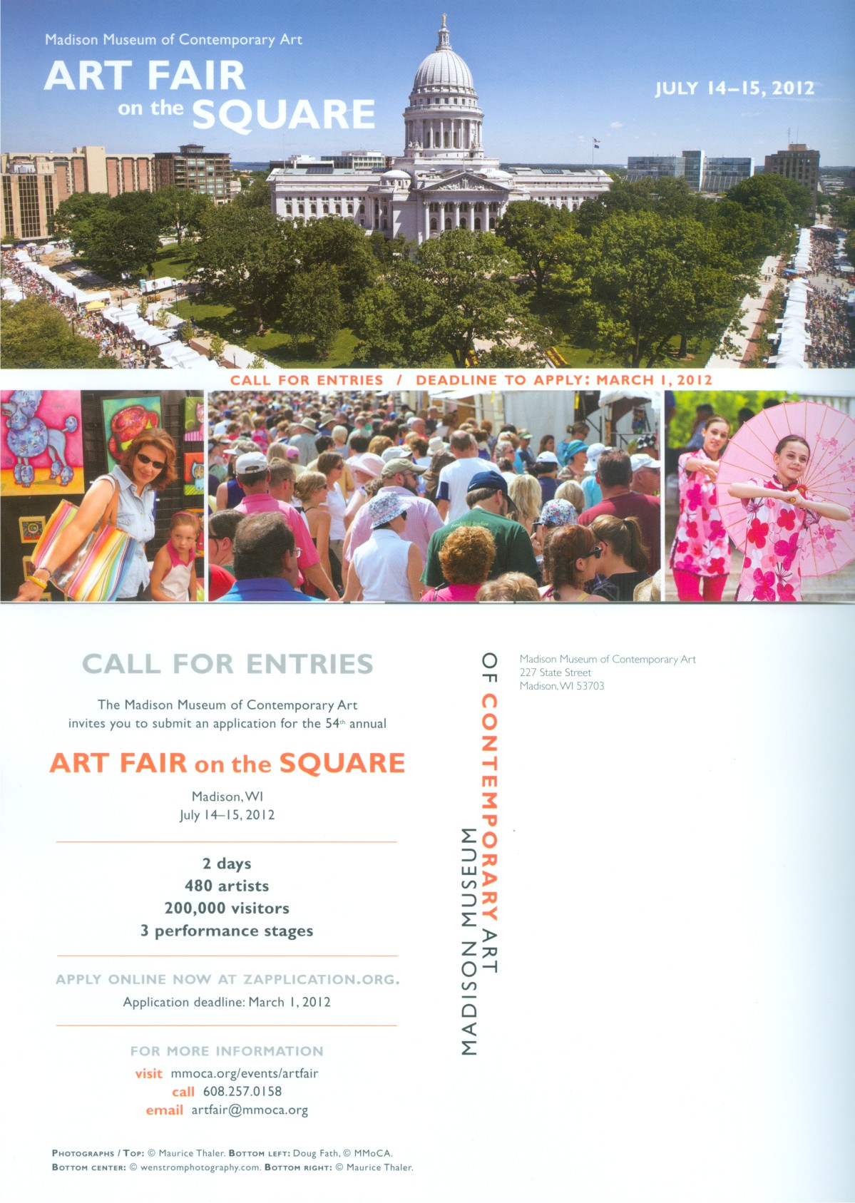 Madison, Wisconsin - Art Fair on the Square