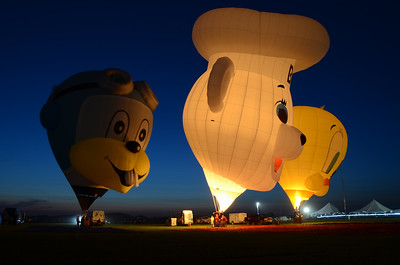 Balloon Glow - Quick Chek Festival of Ballooning - July 2018