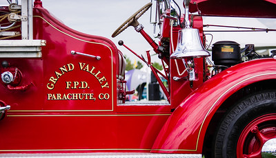 Western Colorado Classic car show in Grand Junction, Colorado.