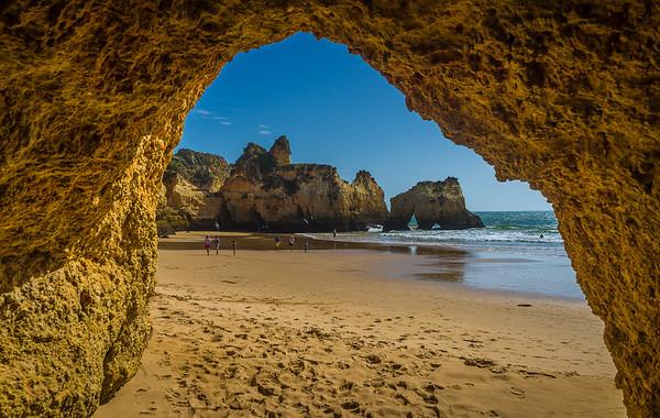 The Secret Algarve Cave Photography By Messagez com
