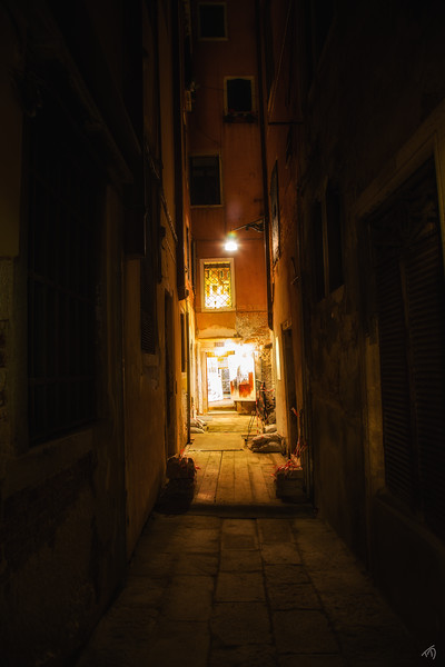 Alley Illuminated