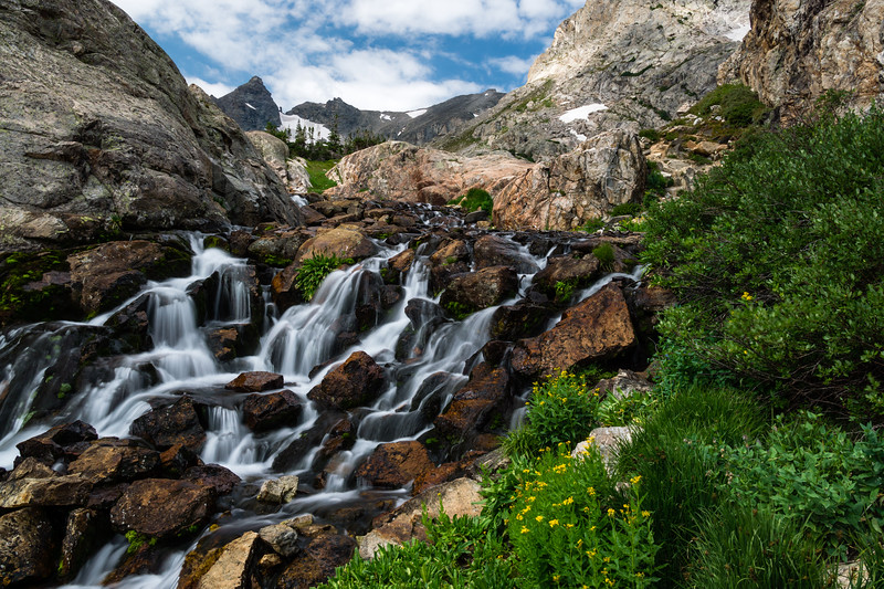 River in Indian Peaks Wilderness