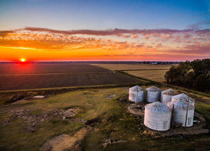 Six Bin Sunset