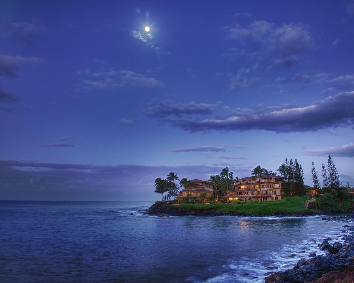 Moon Over Kauai