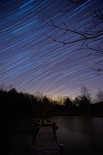 Stars Above the Pond