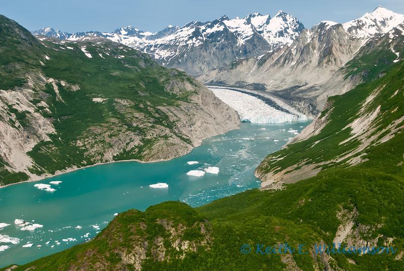 An arm of Glacier Bay, Alaska