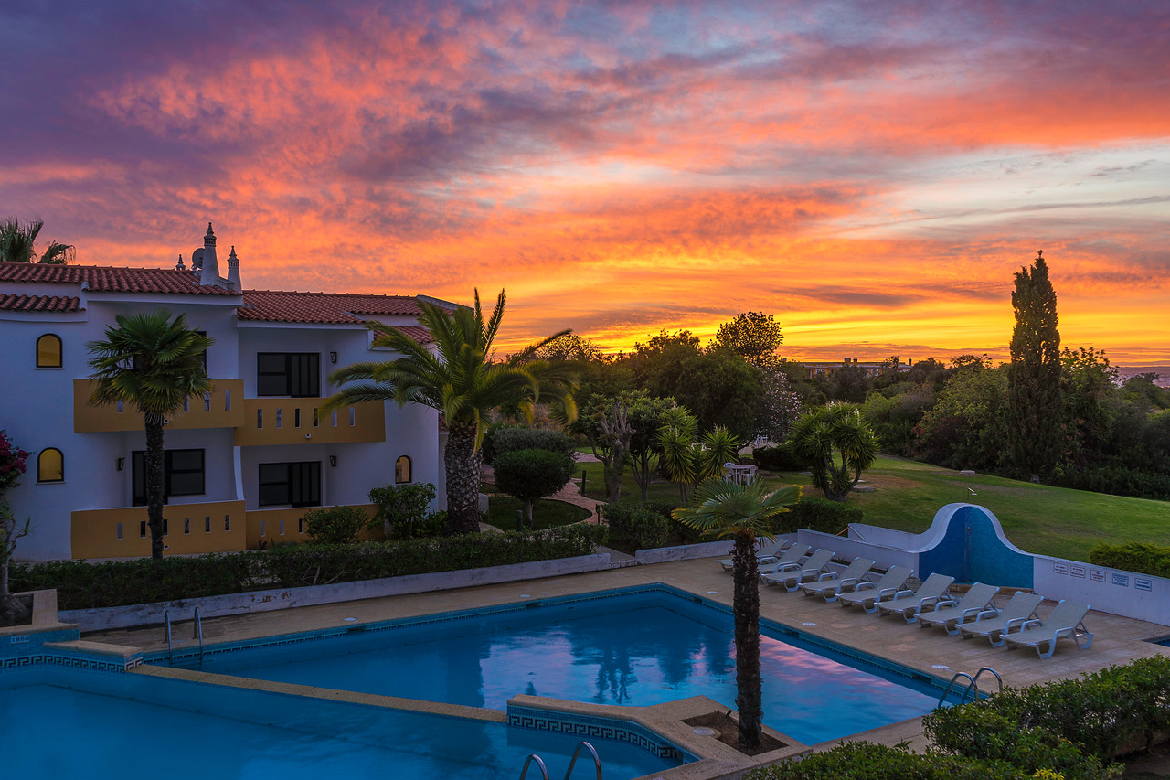Amazing Sunset in Ferragudo Algarve by Messagez com