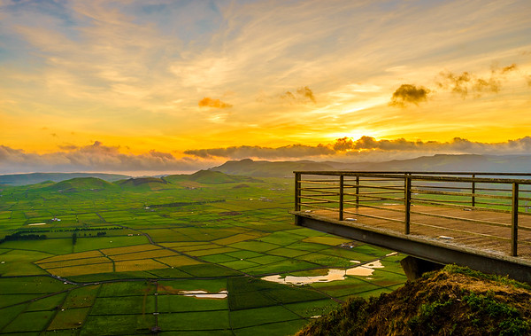 Original Terceira Island Viewpoint Sunset Photography By Messagez com