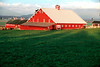 Century old red barn
