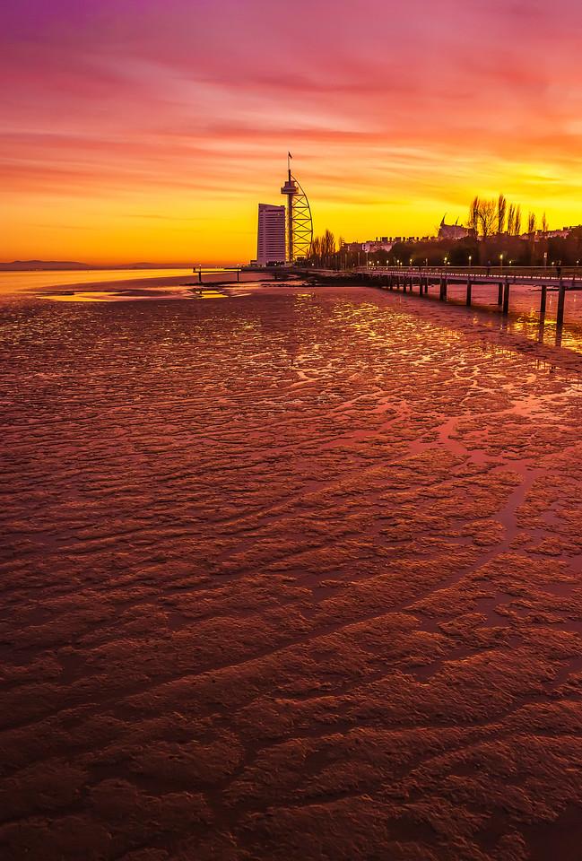 Amazing Lisbon Sunset Light Colors Photography By Messagez com
