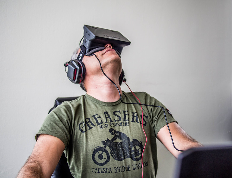 Orlovsky and Oculus Rift
