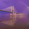 Magical Bridge Rainbow Photography  By Messagez com