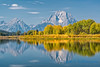 Mount Moran, Oxbow Bend, Grand Teton NP