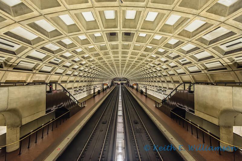 Smithsonian Metro Station, Washington DC