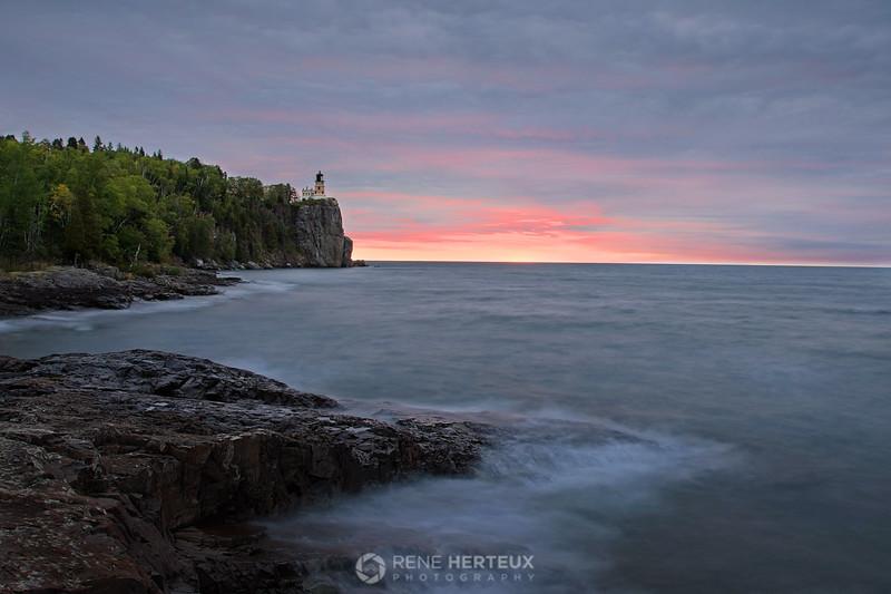 Split rock sunrise I