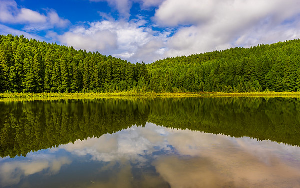 Azores Portugal Sao Miguel Island Peace Lagoon Photography 3 By Messagez com