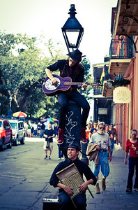 Street Duo on a Stick