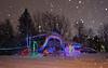 Holiday Snow-bow Globe