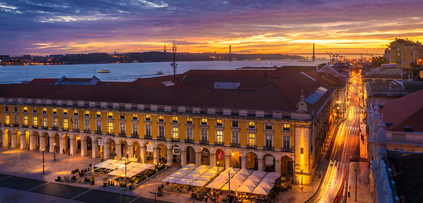 Original Lisbon Light Flow  Photography By Messagez com