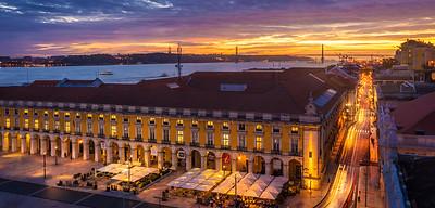 Original Lisbon Light Flow  Photography By Messagez com