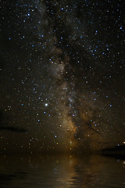 The Great Milky Way Flood