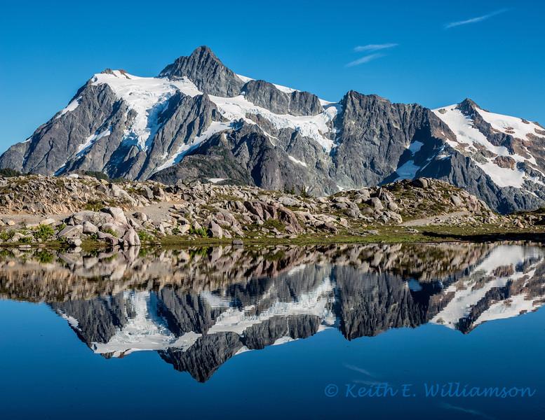 Reflecting on Mount Shuksan