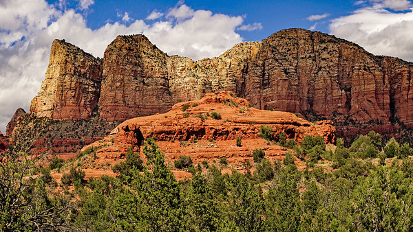 Red Rocks of Sedona, Arizona, #1858